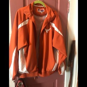 TEXAS LONGHORNS MENS WINDBREAKER